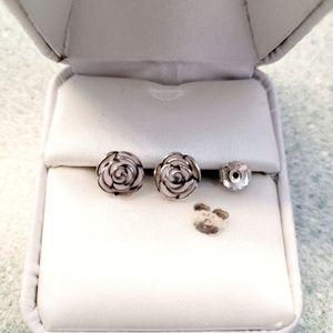 Pandora Rose Garden Earrings